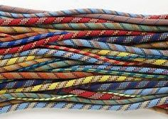 climbing rope, so pretty Rock Climbing Gear, Climbing Rope, Abseiling, Rando, Rappelling, Love Rocks, Outdoor Survival, Mountaineering, Climbers