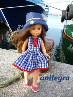 ANILEGRA COSE PARA NANCY: Vestido marinero Nancy