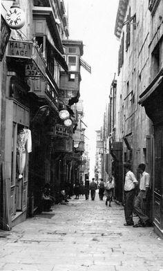 Strada Stretta late 1930's