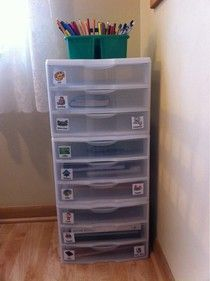 workboxes - how one family does it