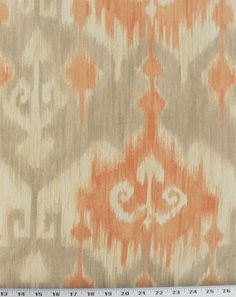 Marlena Orange   Online Discount Drapery Fabrics and Upholstery Fabric Superstore!