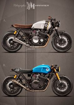 Yamaha XJR 1998 Custom cafe Racer by Holographic Hammer
