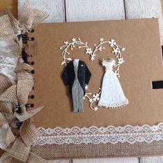 Wedding album SIZE 8x8 inches. Bride & Groom by xHeavenlyCraftsx