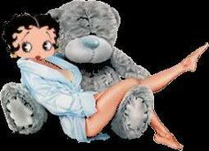 gifs betty boop et divers - Page 29 Animated Cartoon Characters, Animated Cartoons, Animated Gif, Ted Bear, Boop Gif, Betty Boop Cartoon, Valentine Images, Valentines, Greetings Images
