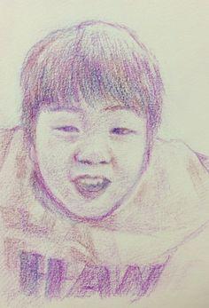 drawing boy