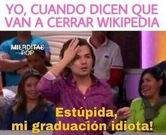 Repruebo todo el año sin Wikipedia!!!!