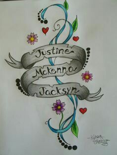 Grandchildren tattoos