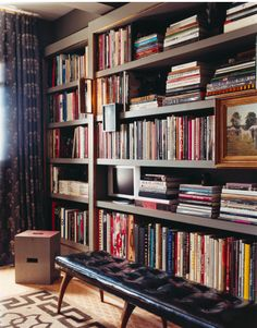 bookshelf styling http://www.markdsikes.com/2012/03/15/west-village-wish/