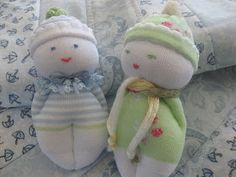 Gee's Projects: Sock Babies