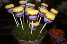 Hunny Pots Cake Pops