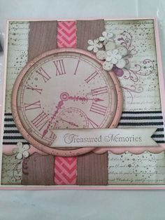 Girly steampunk card using Kaszazz products, made by Kathryn James. Cute Cards, Diy Cards, Your Cards, Scrapbook Cards, Scrapbooking Ideas, Scrapbook Layouts, Steampunk Cards, Craft Projects, Projects To Try