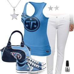 Tennessee Titans All Star Outfit