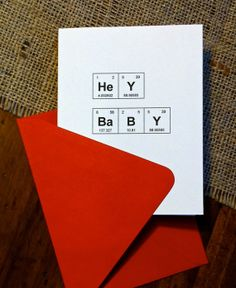 "Items similar to Periodic Table of the Elements I Love You / Like You ""HeY BaBY"" Geek Pick Up Line Card / Nerd Chemistry Love Card on Etsy Science Words, Science Art, Teaching Science, Love Cards, Diy Cards, Periodic Table Words, Funny Science Jokes, Periodic Table Of The Elements, Diy Gifts For Boyfriend"