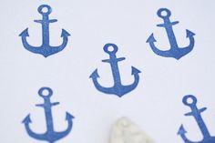 hand carved stamps anchor Anker , Stempel, handgeschnitzt von Aure & En auf DaWanda.com