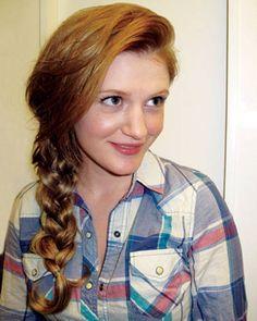 DIY Hairstyles  An ELLE Editor Tries 21 Hairstyles in 21 Days - ELLE #hairstlyes