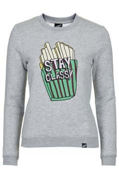 **Stay Classy Sweater by Illustrated People