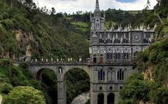 Medieval Cathedral In Pasto, Colombia. Las Lajas Photo: This Photo was uploaded by staffpicks. Find other Medieval Cathedral In Pasto, Colombia. Places Around The World, Oh The Places You'll Go, Places To Travel, Places To Visit, Around The Worlds, Croquis Architecture, Chateau Moyen Age, Beautiful World, Beautiful Places