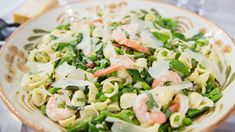 Make this flavorful and easy shrimp and pasta salad recipe from Debutant Farmer Elizabeth Heiskell for your next springtime get together.