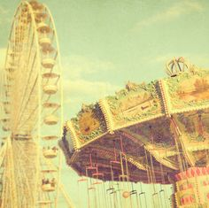 carnival, carousel, circus, cute, photography, vintage