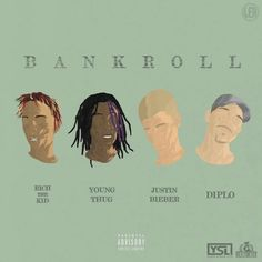 SPATE The #1 Hip Hop News Magazine Blog For Talent Buyers and more: Diplo- BANK ROLL ft Justin Bieber Rich the Kid & Y...