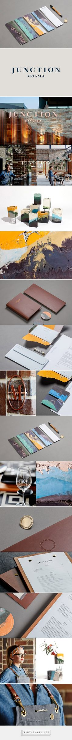 New Visual Identity for Junction Moama by Seesaw — BP&O... - a grouped images picture - Pin Them All