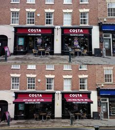 #costacoffee Atherstone - perfect example that an awning can look great closed too! By Shades of Comfort Ltd