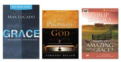 Grace is the love and mercy given to us by God because God desires us to have it, not because of anything we have done to earn it. This is the message of the gospel in a word. We should always be reminding ourselves of the grace that God has extended to us.  Here are 3 Bible studies on grace to consider for your group from Max Lucado, Timothy Keller and Philip Yancey http://faithgateway.com/3-bible-studies-grace