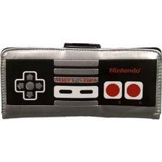 Nintendo Controller Pad Clutch Wallet by Bioworld - Handbag Box