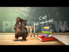 René la taupe - C'est la rentrée French Teaching Resources, English Activities, Teaching French, Teaching Ideas, First Week Of School Ideas, High School French, First Day Activities, School Reviews, French Songs