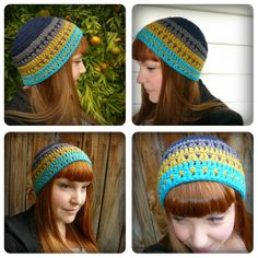 Shara Lambeth Designs: Voyages Beanie.....hmmm...could I make this?