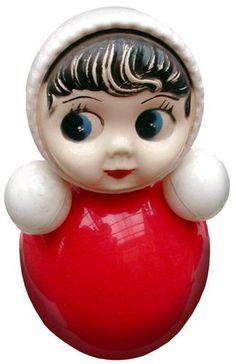 Nevalyashka Retro Toys, Vintage Toys, Back In The Ussr, Bizarre, Holly Hobbie, Kewpie, Childhood Toys, Old Toys, Vintage Ceramic