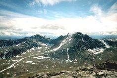mount Rondeslottet, 2178 meters