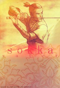 Sokka - Avatar : Legend of Aang Avatar Aang, Avatar Airbender, Team Avatar, Zuko, Legend Of Aang, Water Tribe, Avatar Series, Iroh, Korrasami