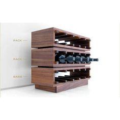 Rack à vin design