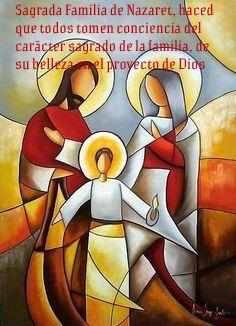 Sagrada Familia de Nazaret, haced que todos tomen conciencia del carácter sagrado de la familia, de su belleza en el proyecto de Dios