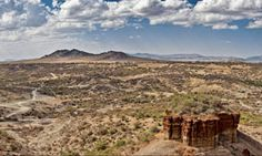 Oldupai Gorge (incorrectly named Olduvai Gorge by early European explorers that misheard the...