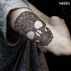 Resultado de imagen para tatto craneo man #TattooIdeasHombre