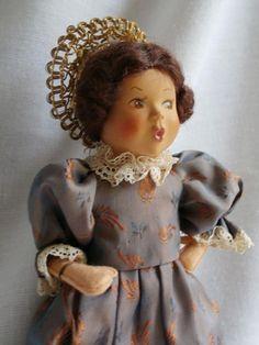 Vintage Baitz Bodensee Whistler Doll Made in Austria ~ All Original ~ Minty!
