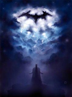 Increíble artwork de batman #news