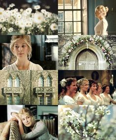Jane Bennet, honestly, whoever cast Jane and Elizabeth was brilliant. I think Rosamund Pike and Keira Knightley are two of the most lovely women ever.