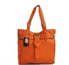 Love orange handbags ... And red, and green, and purple