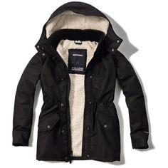 Women's Fleece-Lined Explorer Parka: Jackets and Coats | Free ...