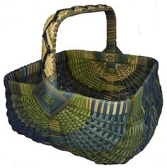 Anne Bowers - Cabbage Kale Kholrabi Basket (green)