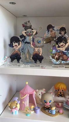 Room Design Bedroom, Room Ideas Bedroom, Kawaii Bedroom, Otaku Room, Anime Reccomendations, Animated Icons, Cute Room Decor, Anime Gifts, Anime Dolls