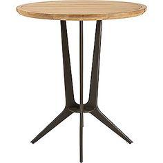 McGuire Furniture: Farallon Outdoor Teak Bistro Table: 379