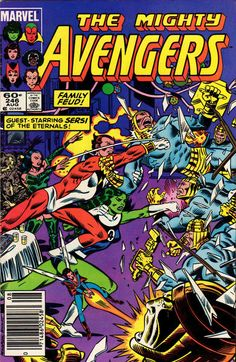 Cover for The Avengers (Marvel, 1963 series) #246 [Direct Edition]