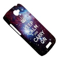 NEW Keep Calm and Carry On Space Star Cone Nebula HTC One S Hardshell Case Cover HTC One S Case Galaxy Star Nebula