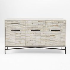 Awesome look  Wood Tiled Media Console | West Elm