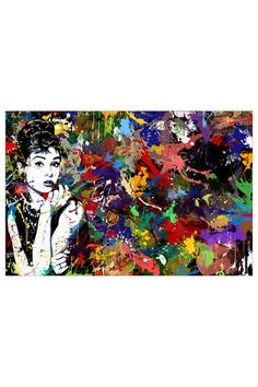 f369f3b9b57c Maxwell Dickson Audrey Hepburn Wall Art by Maxwell Dickson on  HauteLook Contemporary  Wall Art