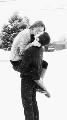 Kiss me in the snow must do this and yes I'm strong enough
